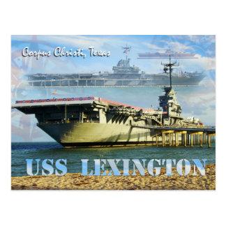 USS Lexington (CV-16), Corpus Christi, Texas Postkarten