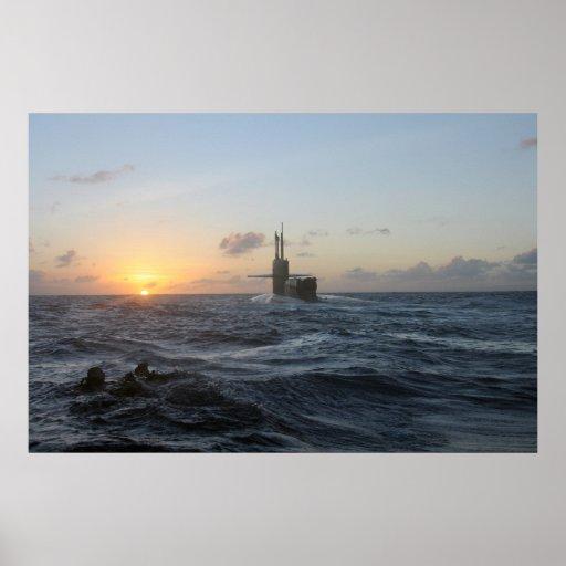 USS Michigan (SSGN 727) Posterdruck