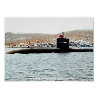 USS MINNEAPOLIS-SAINT PAUL POSTER