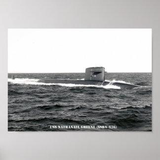 USS NATHANAEL GREENE POSTER