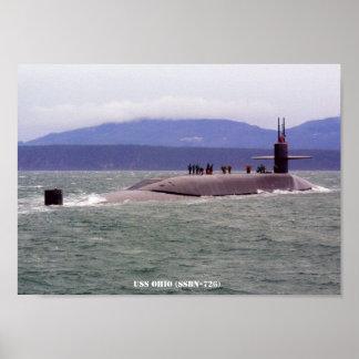 USS OHIO POSTER