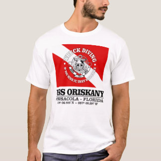 USS Oriskany (beste Wracke) T-Shirt