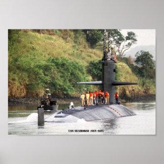 USS SEEPFERD POSTER