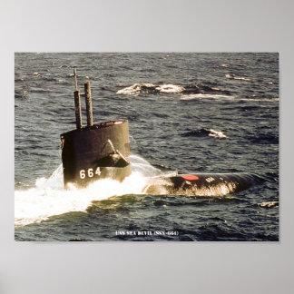 USS-SEEteufel Poster