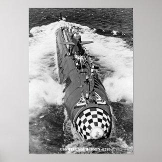 USS TECUMSEH POSTER