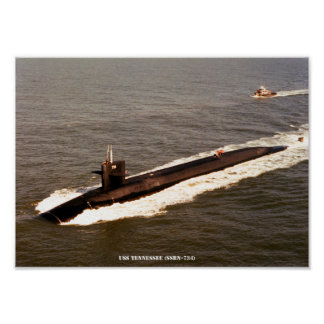 USS TENNESSEE POSTER