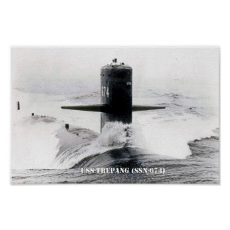 USS TREPANG POSTER