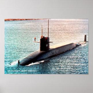 USS ULYSSES S. GRANT POSTER