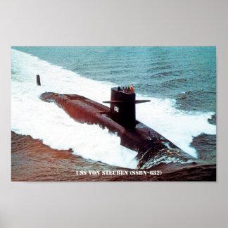 USS VON STEUBEN POSTER