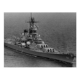 USS Wisconsin (BB-64) Postkarte