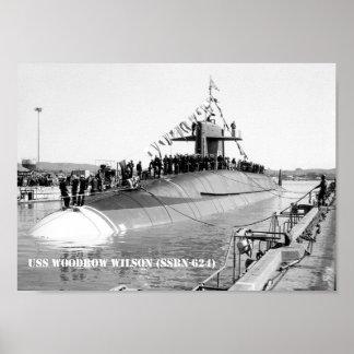 USS WOODROW WILSON POSTER