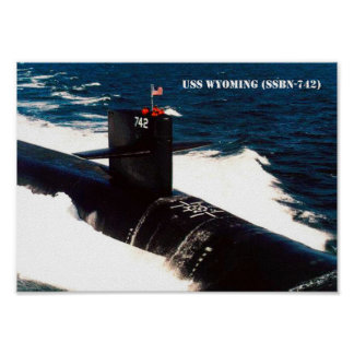 USS WYOMING POSTER