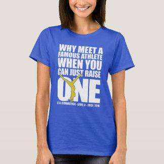 Usw.-NIVEAU 3 - heben Sie einen berühmten Athleten T-Shirt