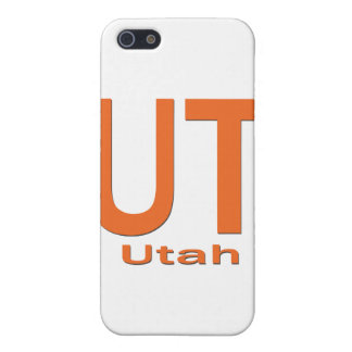 UT Utah einfache Orange iPhone 5 Cover