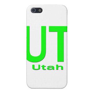UT Utah einfaches Grün iPhone 5 Cover