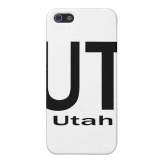 UT Utah einfaches Schwarzes Schutzhülle Fürs iPhone 5
