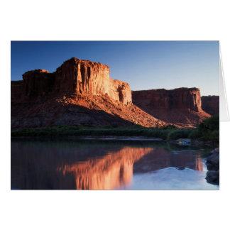 Utah, a-MESA, das im Colorado 1 sich reflektiert Karte