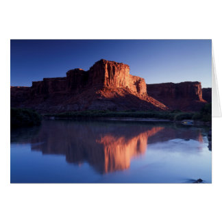 Utah, a-MESA, das im Colorado 2 sich reflektiert Karte