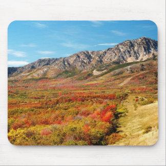 Utah-Berge in der Farbe Mousepad