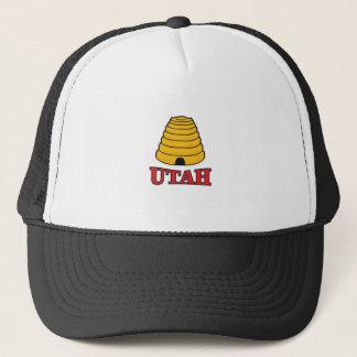 Utah-Bienenstock Truckerkappe