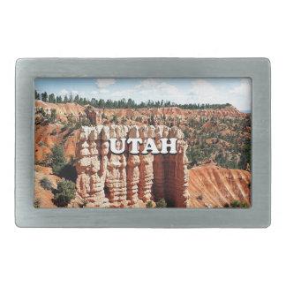 Utah: Bryce Schlucht-Nationalpark Rechteckige Gürtelschnalle
