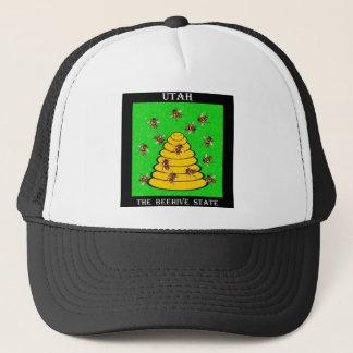 Utah der Bienenstock-Staat Truckerkappe