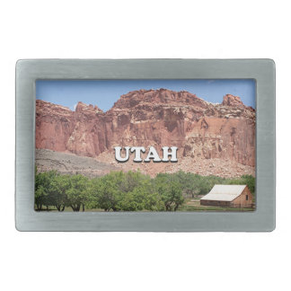 Utah: Fruita, Hauptstadts-Riff-Nationalpark, USA Rechteckige Gürtelschnallen