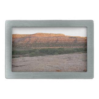 Utah-Landschaft Rechteckige Gürtelschnalle