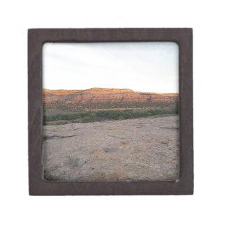 Utah-Landschaft Schachtel
