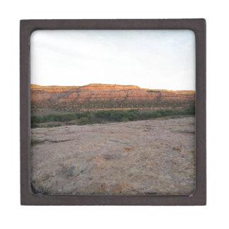 Utah-Landschaft Schmuckkiste