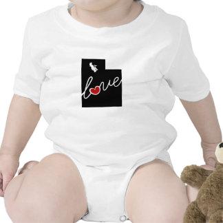 Utah-Liebe!  Geschenke für UT Liebhaber Babybodys
