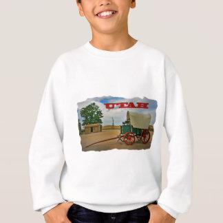 Utah rustikaler Stagecoach Sweatshirt