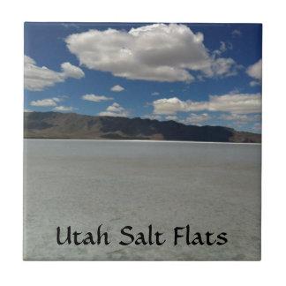 Utah-Salz-Ebene-Landschaft Keramikfliese