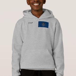 Utah-Staats-Flagge Hoodie