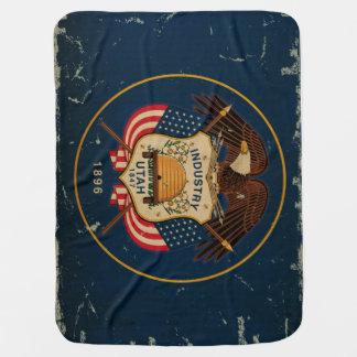 Utah-Staats-Flagge VINTAG Puckdecke