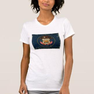 Utah-Staats-Flagge VINTAG T-Shirt