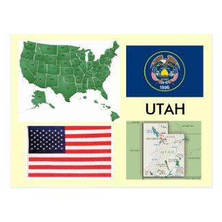 Utah, USA Postkarte