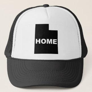 Utah-Zuhause weg von Staats-Ball-Kappen-Hut Truckerkappe