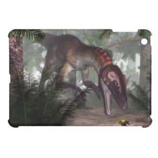 Utahraptor Dinosaurier, der einen Gecko jagt iPad Mini Hülle