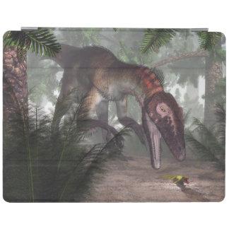 Utahraptor Dinosaurier, der einen Gecko jagt iPad Smart Cover