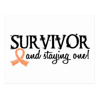 Uteriner Krebs-Überlebender 18 Postkarte