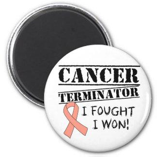 Uterines Krebs-Abschlussprogramm Kühlschrankmagnete