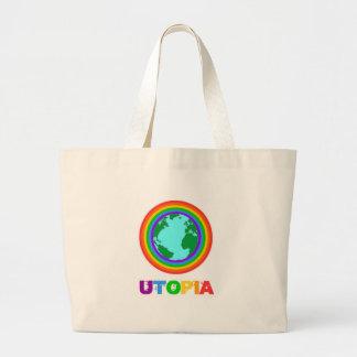 Utopia-Planet Tragetasche