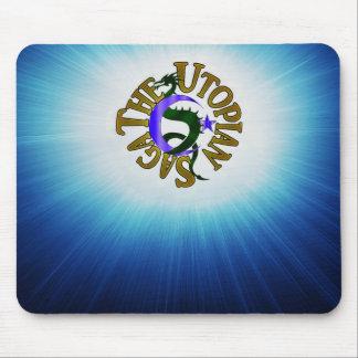 Utopisches Saga-Logo mousepad