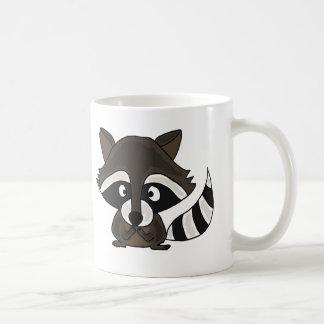 UU-, lustige Raccoon-Cartoon-Kunst Tasse