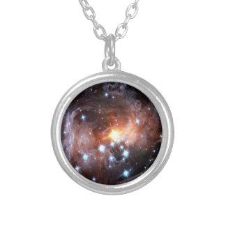 V838 Monocerotis rotes Supergiant Stern Hubble Versilberte Kette