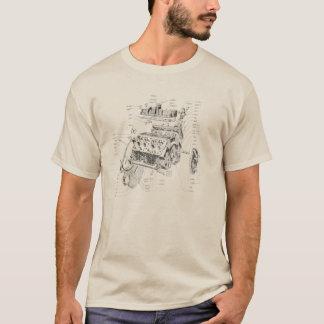 V8-Motor T-Shirt