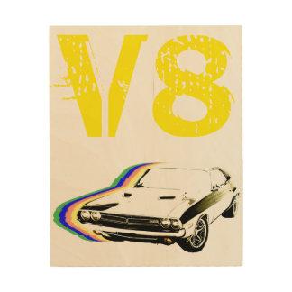 V8-Muskel! Holzdruck