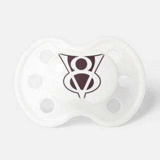 V8-Symbol Baby Schnuller