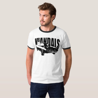V8andals Retro Muscle Car Shirt